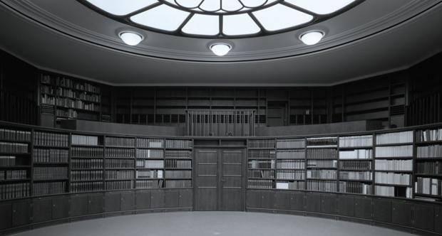 Aby Warburg bibliothek - Biblioteca nel Salone