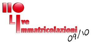 110 LIVE IMMATRICOLAZIONI