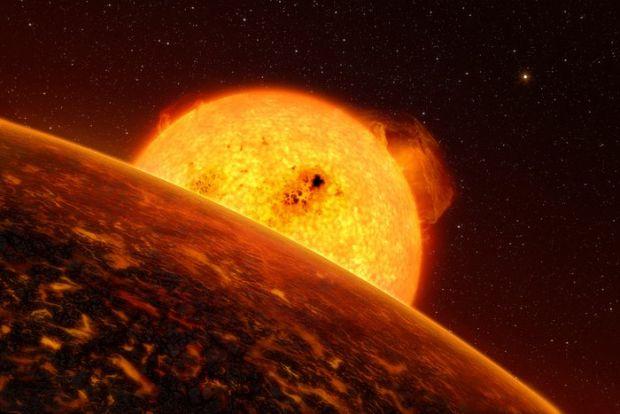 CoRoT-7b-immagine tratta da European Southern Observatory (ESO)