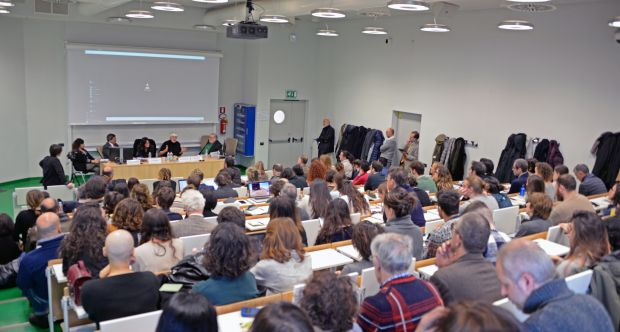 Master in giornalismo: lectio magistralis di Ernest Sotomayor, Aula A2 CLE