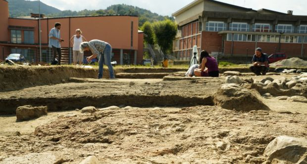 Scavi archeologici - Costigliole Saluzzo 1