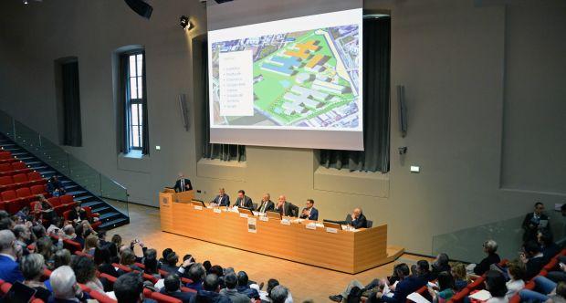 Città delle Scienze - Presentato nuovo modello di Campus universitario - Aula Magna Cavallerizza Reale